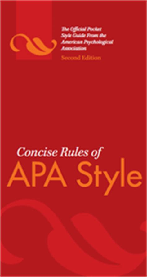 Apa 5th edition research paper